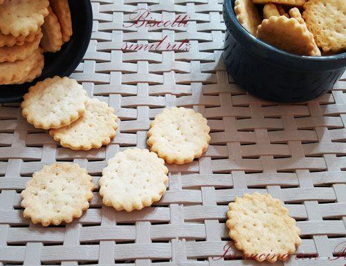 Biscotti simil ritz