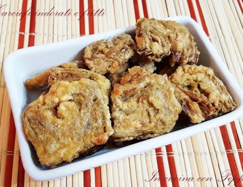 Carciofi indorati e fritti – ricetta napoletana
