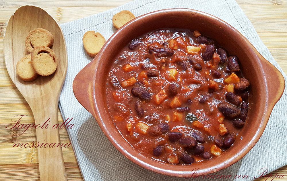 Fagioli alla messicana - ricetta semplice