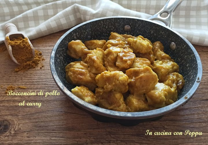 bocconcini di pollo al curry