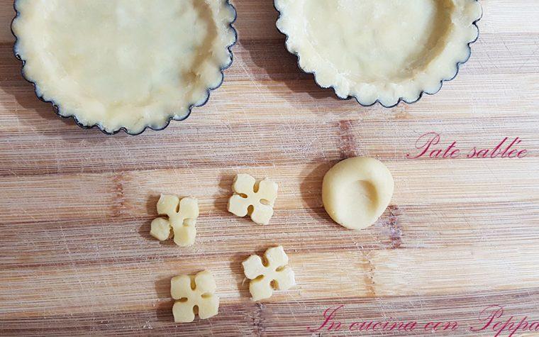 Pâte sablée – ricetta base