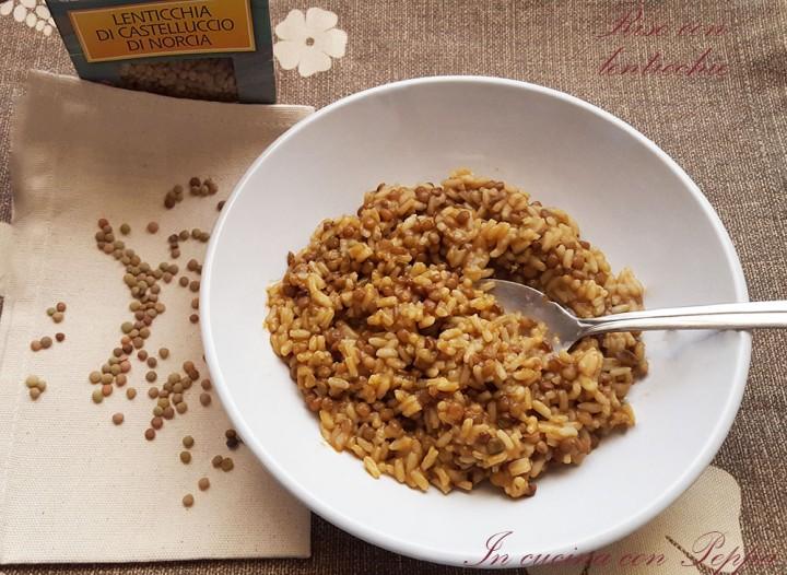 riso con lenticchie