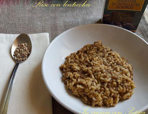 Riso con lenticchie – primi piatti