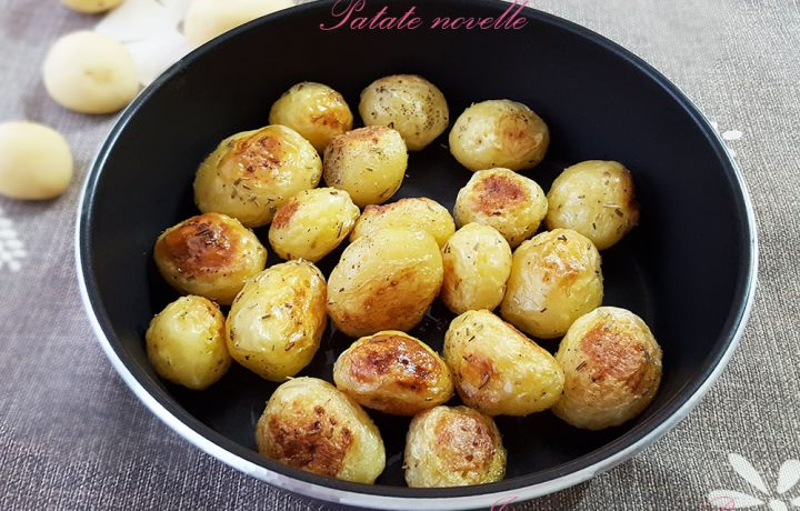 Patate novelle con cottura microonde