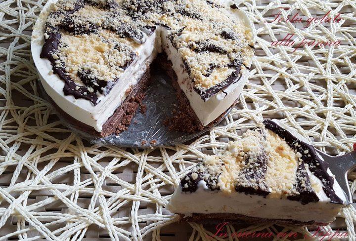 torta gelato alla panna