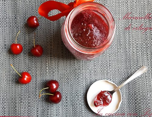 Marmellata di ciliegie bimby, facile e deliziosa