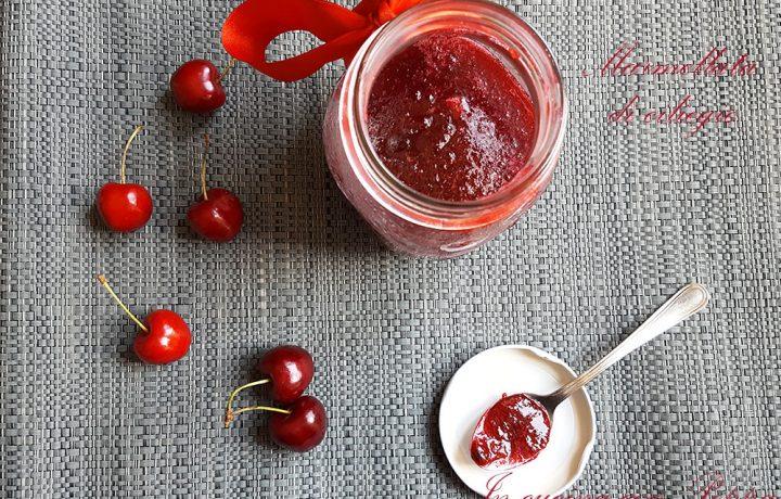 Marmellata di ciliegie bimby