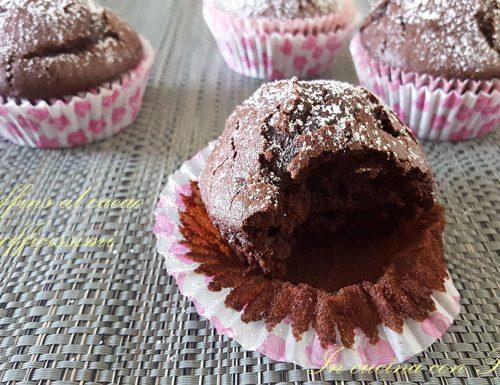 Muffins al cacao sofficissimi