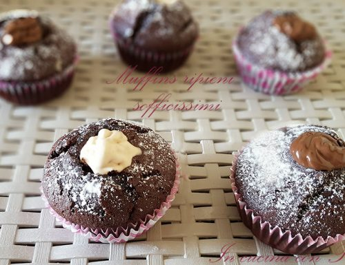 Muffins ripieni sofficissimi