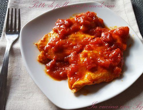 Petto di pollo con pomodorini