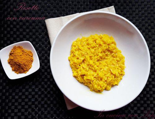 Risotto con curcuma – primo piatto