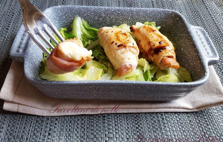 Involtini di pollo – ricetta veloce