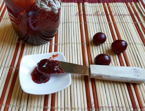 Marmellata di prugnette bimby