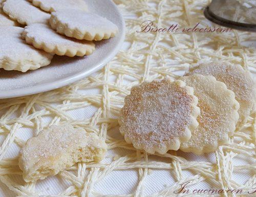 Biscotti con cottura veloce – pronti in pochi minuti