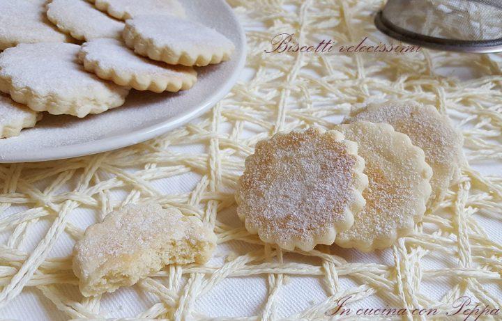 Biscotti con cottura veloce
