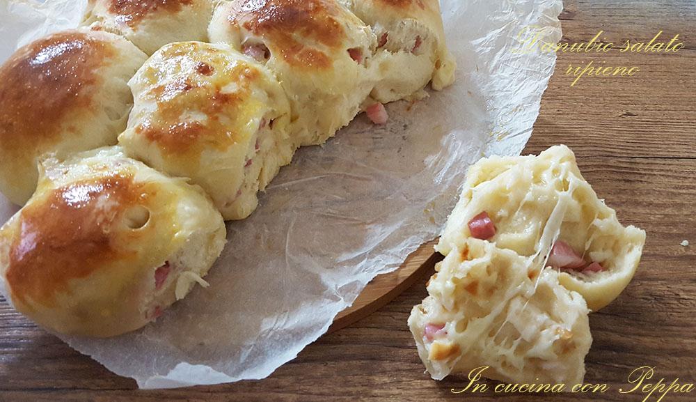 Ricetta Danubio Farcito.Danubio Salato Ripieno Soffice E Gustoso In Cucina Con Peppa