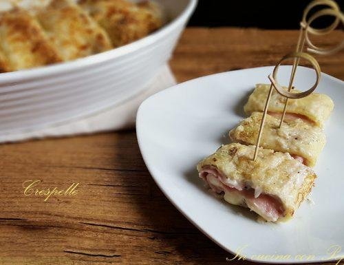 Crespelle – ricetta semplice e gustosa