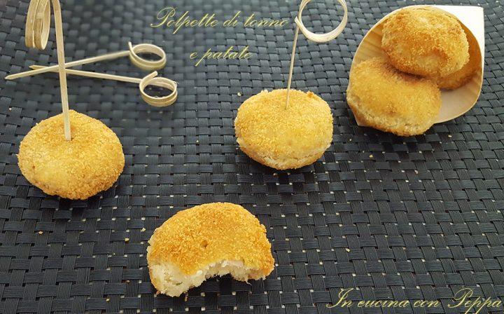 polpette di tonno e patate