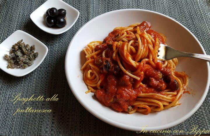 Spaghetti alla puttanesca -