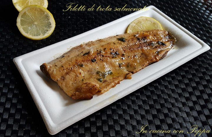 filetti di trota salmonata