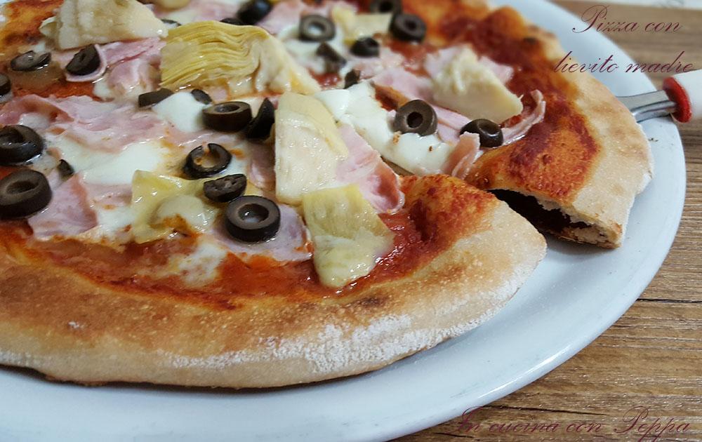 Pizza con lievito madre buona e digeribile in cucina con for Pizza con planetaria