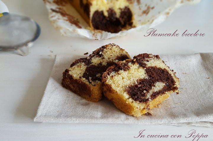 plumcake bicolore