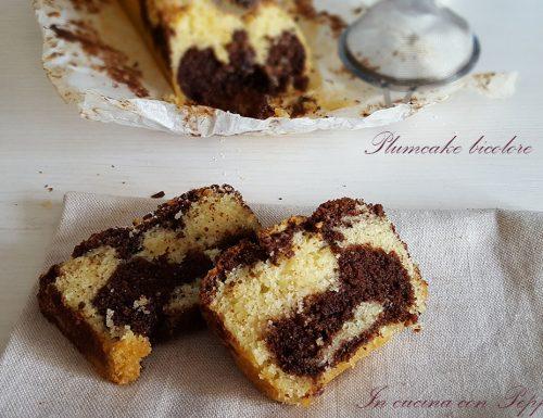 Plumcake bicolore soffice e delizioso