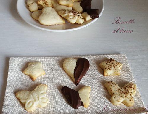 Biscotti al burro misti – ricetta facile e deliziosa