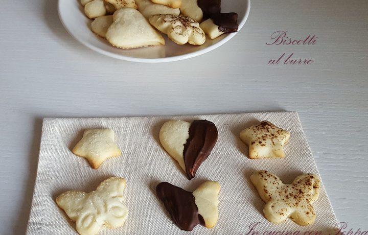 Biscotti al burro misti deliziosi