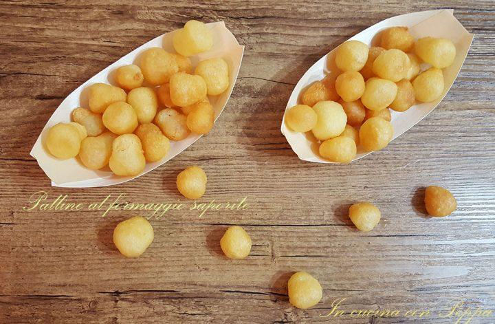 palline al formaggio saporite
