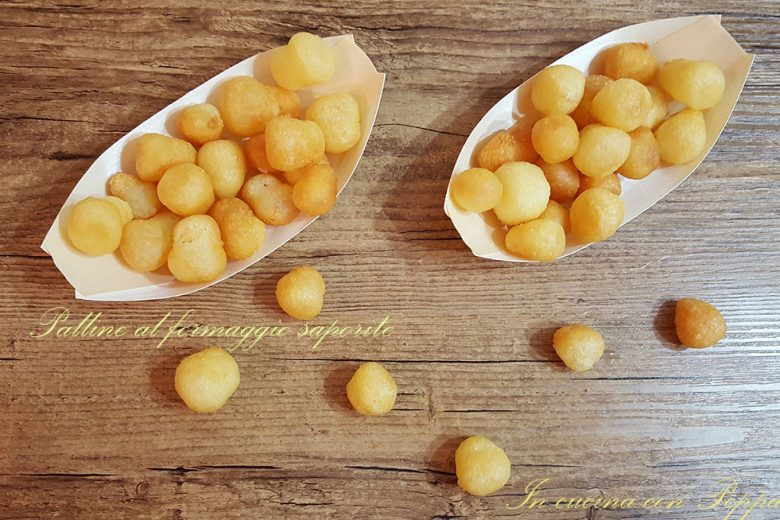 Palline di patate e formaggio con bimby