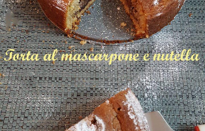 Torta al mascarpone e nutella – ricetta deliziosa