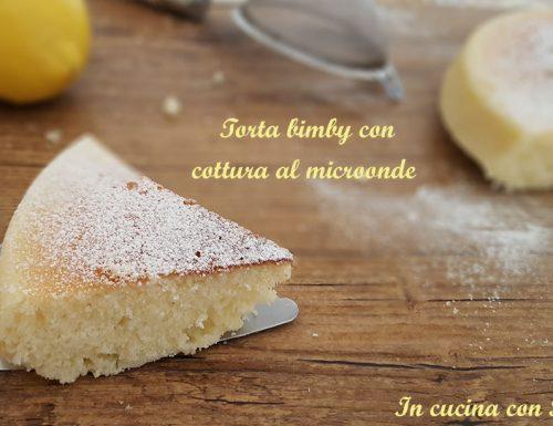 Torta bimby con cottura al microonde