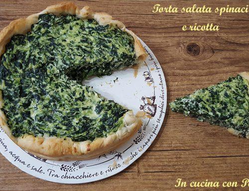 Torta salata spinaci e ricotta – ricetta semplicissima e gustosa