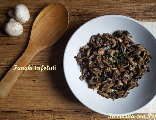 Funghi trifolati – ricetta semplice e saporita