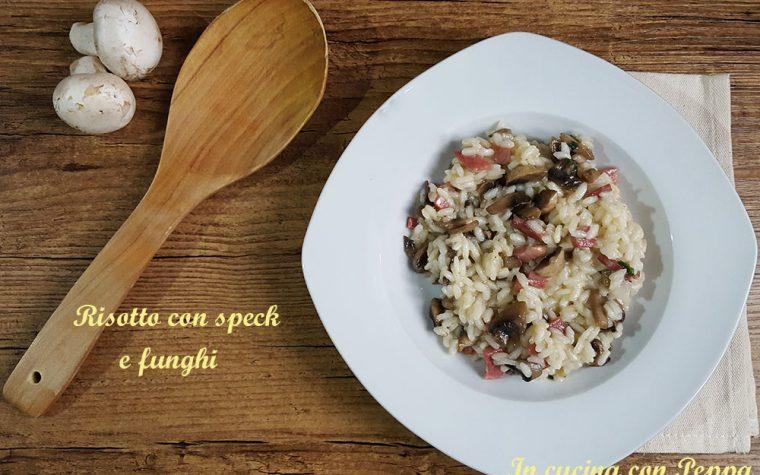 Risotto con speck e funghi – ricetta saporita