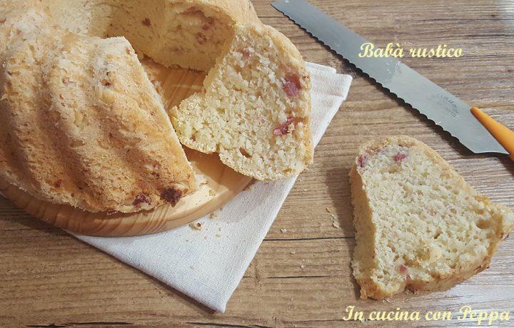 Babà rustico – ricetta semplice e gustosissima