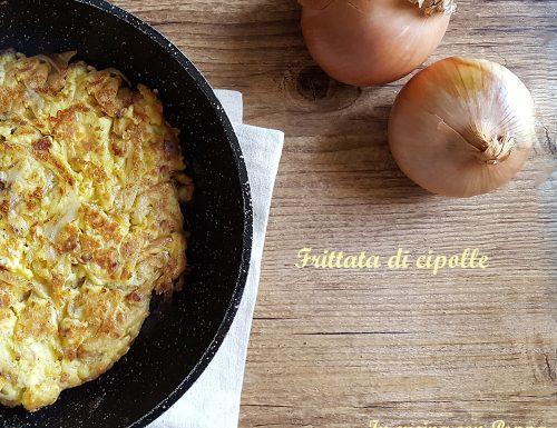 Frittata di cipolle – ricetta saporita
