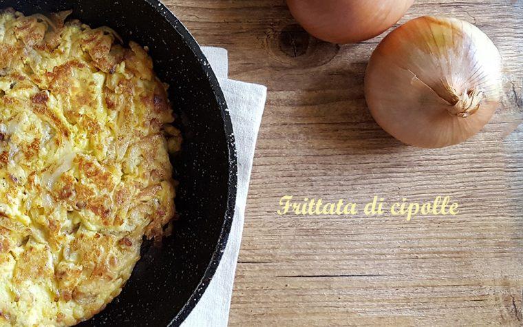 Frittata di cipolle – ricetta secondo semplice e saporito