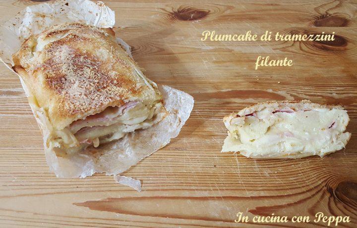 Plumcake di tramezzini filante – ricetta sfiziosa e gustosa