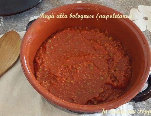 Ragù alla bolognese napoletano – ricetta condimento saporito