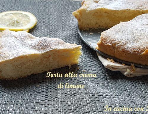 Torta alla crema di limone bimby – dolce delizioso