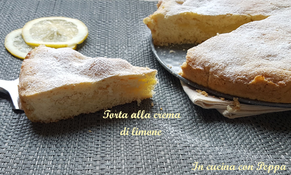 Torta Alla Crema Di Limone Bimby Ricetta Dolce Delizioso In