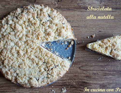 Sbriciolata alla nutella – ricetta dolce golosa