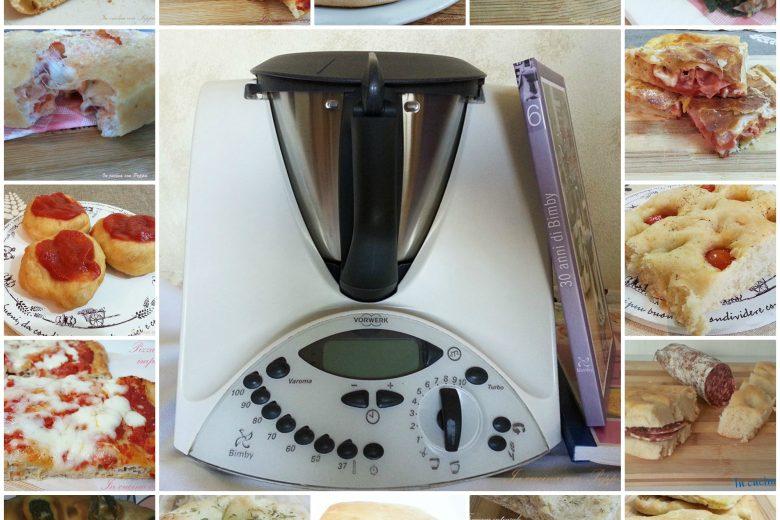 Pizze e focacce con bimby – raccolta