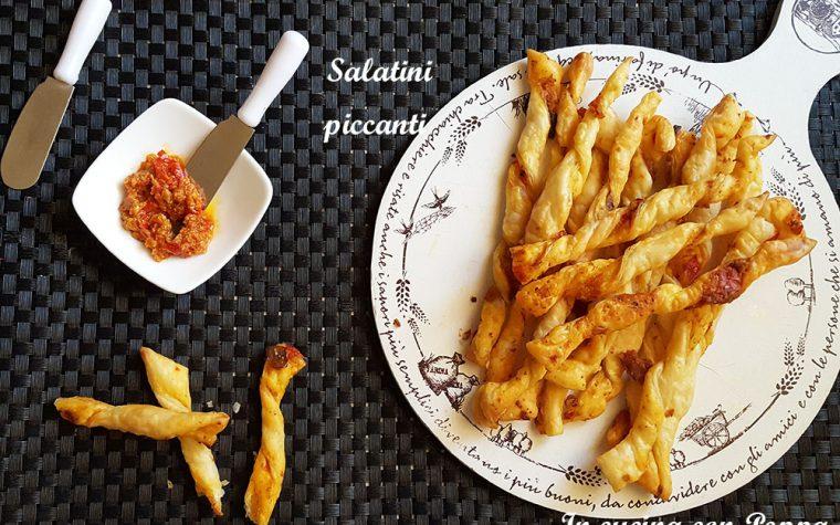 Salatini piccanti con bomba calabrese – ricetta semplice e veloce