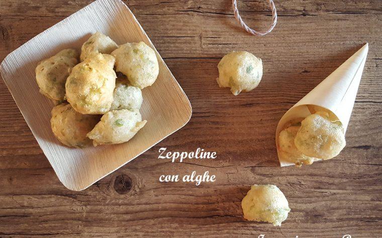 Zeppoline con alghe – ricetta sfiziosa