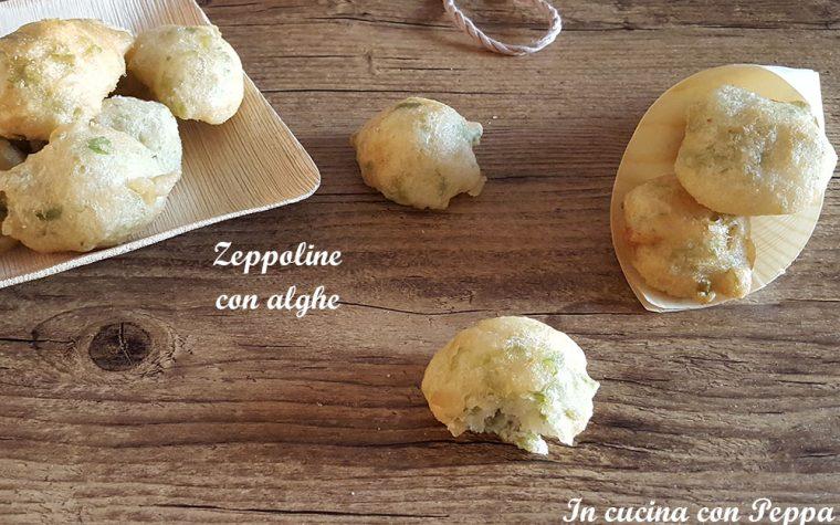 Zeppoline con alghe bimby – ricetta sfiziosa