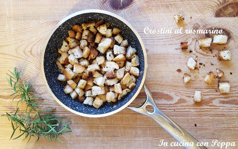 Crostini al rosmarino (ricetta riciclo)