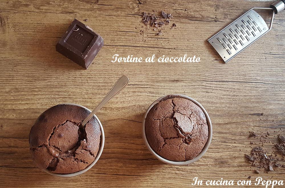 tortine al cioccolato
